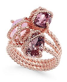 Stone Trio Rope Ring, Created for Macy's