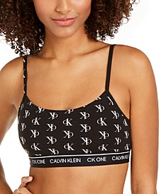 CK One Cotton Unlined Bralette QF5727