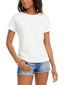 Juniors' Cotton Boyfriend T-Shirt