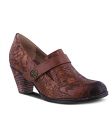 Women's Huekiss Laser Etched Floral Shooties