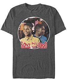Boys N The Hood Men's Back to Back Portrait Short Sleeve T- shirt