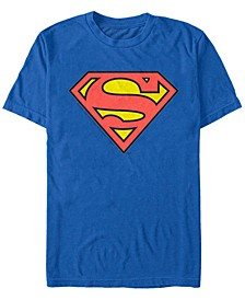 DC Men's Classic Superman Logo Short Sleeve T-Shirt