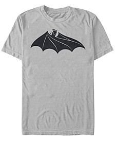 DC Men's Batman Cape Logo Short Sleeve T-Shirt