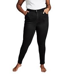 Curve Tall Adrianna Skinny High Jean, Plus Size