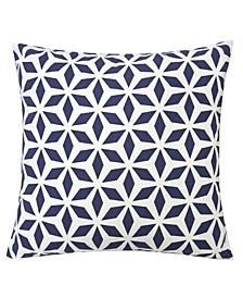 "Samantha Crystal Grid 20"" x 10"" Outdoor Decorative Pillow"