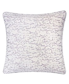 Charlotte Jacquard Throw Pillow, Cloudy