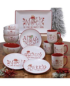 Holiday Greetings Dinnerware Collection