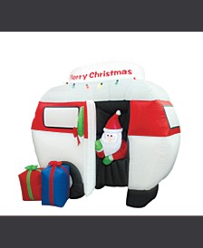 6.5' Inflatable Airblown Camper with Santa