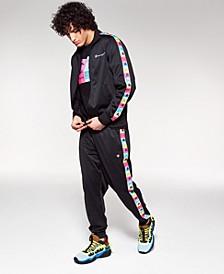 Men's Colorblocked-Logo Track Pants