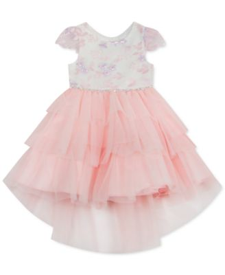 Toddler Girls Tiered Tulle Dress