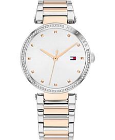 Women's Two-Tone Stainless Steel Bracelet Watch 32mm