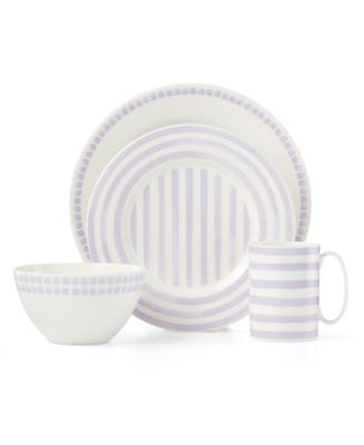 Charlotte Street Lilac North 4 Piece Place Setting