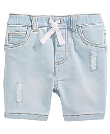 Baby Boys Denim Shorts, Created for Macy's