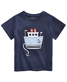 Baby Boys Ship Graphic T-Shirt, Created For Macy's