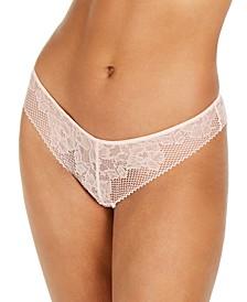 Women's Soft Tech Lace Thong DK4051