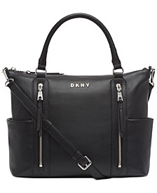 Tappen Leather Satchel, Created For Macy's