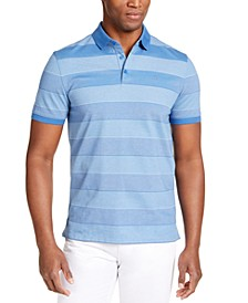 Men's Liquid Touch Bar Stripe Polo Shirt