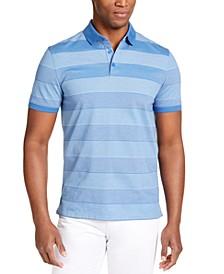 Men's Liquid Touch Bar Stripe Polo Shirt