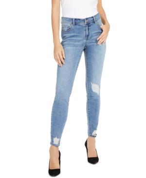 Curvy Rip & Repair Skinny Jeans