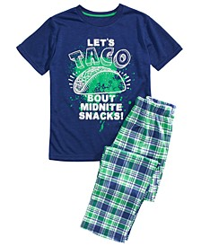 Big Boys 2-Pc. Printed Pajamas Set