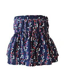 Big Girls Floral Skirt