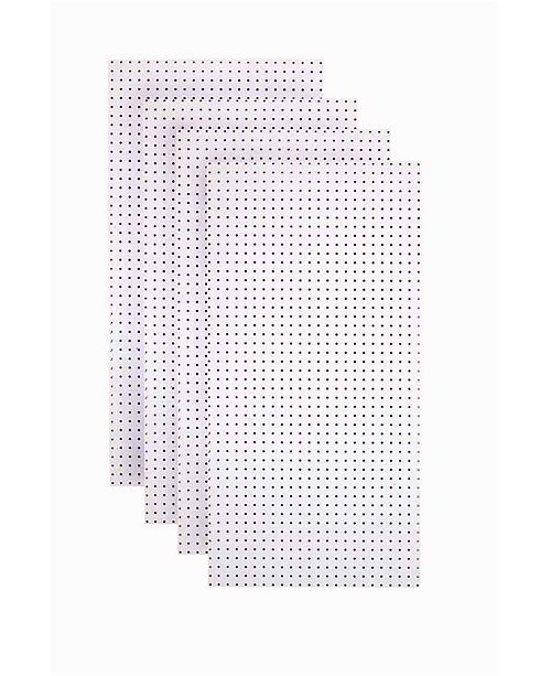 Triton Products Tempered Wood Pegboard Custom Painted Blissful Heavy Duty Tempered Round Hole Pegboards