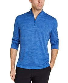 Men's Quarter-Zip Tech Sweatshirt, Created for Macy's