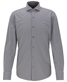 BOSS Men's Jason Slim-Fit Checked Shirt