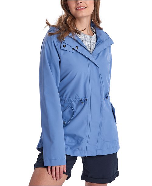 Barbour Promenade Waterproof Hooded Jacket