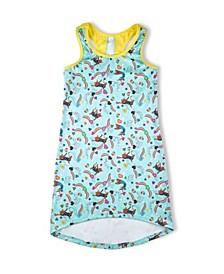 Big Girls Gym Cat Dress