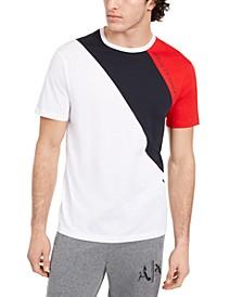 Men's Tri-Color Stripe T-Shirt