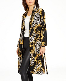 Printed Duster Jacket, Created for Macy's