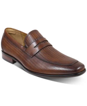 Men's Angelo Woven Penny Loafers Men's Shoes