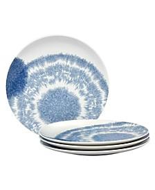 Aozora Set/4 Coupe Dinner Plates
