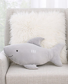 Little Love by NoJo Shark Shaped Decorative Pillow