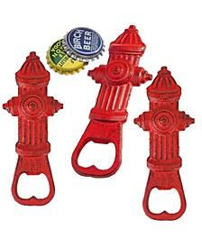Fire Hydrant Bottle Opener, Set of 3