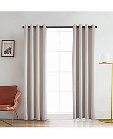 """Venus Room Darkening Curtain, 126"""" L x 54"""" W"""