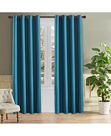 "Odyssey Room Darkening Curtain, 126"" L x 52"" W"