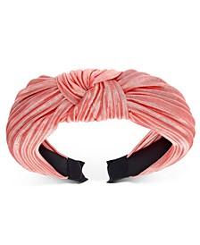 INC Pleated Knot Headband, Created for Macy's