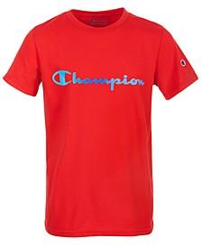 Big Boys Ombré Logo Script T-Shirt