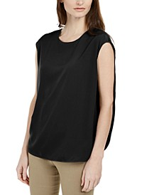 Inverted Petal-Back Top, Created for Macy's