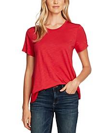 Mixed-Media T-Shirt