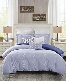 Coastal Farmhouse 9-Piece King Comforter Set