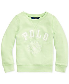 Little Girls French Terry Graphic Pullover