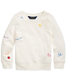 Toddler Girls French Terry Pullover