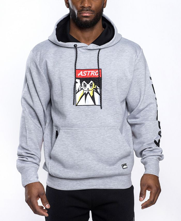 Southpole - Astroboy Premium Power Fleece Applique Patch Pullover Hoodie