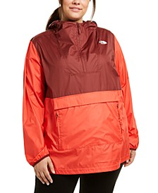 Women's Plus Size Packable Anorak
