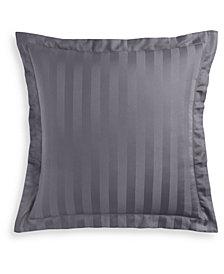 "Charter Club Damask 1.5"" Stripe Supima Cotton 550-Thread Count European Sham, Created for Macy's"