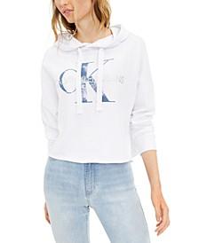 French Terry Logo Hooded Sweatshirt