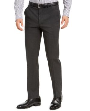 Men's Classic-Fit Stretch Solid Suit Pants